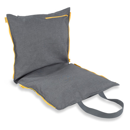 Hhooboz - Pillowbag, 100 x 50 cm, grey