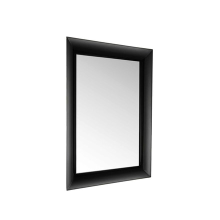 Kartell - François Ghost Mirror, small, black - inclined