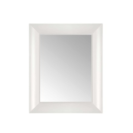 Kartell - François Ghost Mirror, small, white - front