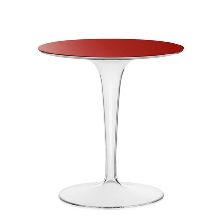 Kartell - Tip Top Side Table, red