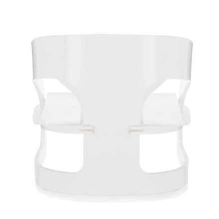Kartell - Joe Colombo Armchair, white - backside