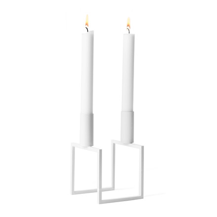 by Lassen - Line Candle Holder, white