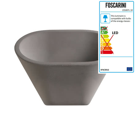 Foscarini - Aplomb Wall Lamp, grey