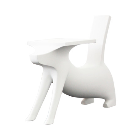 Magis Me Too - Le Chien Savant Chair / Desk for Children, white