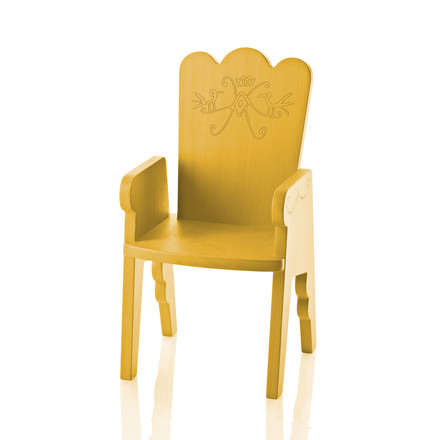 Magis Me Too - Reiet Chair for Children, yellow