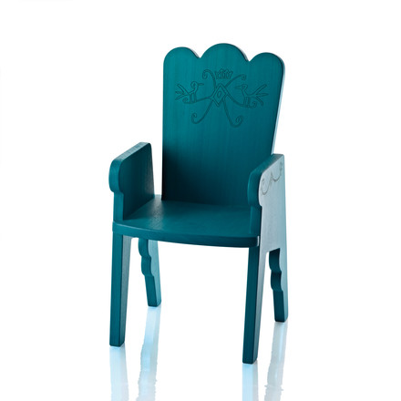 Magis Me Too - Reiet Chair for Children, turquoise