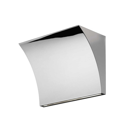 Flos - Pochette Up / Down Wall lamp, chrome-plated