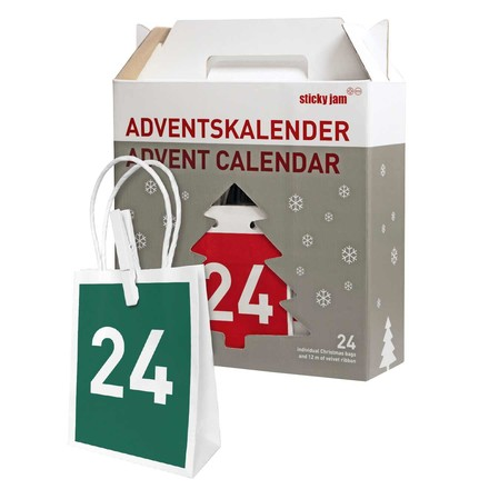 Sticky jam - advent calendar