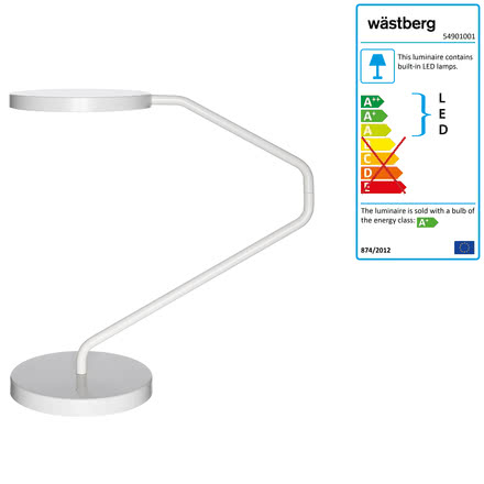 Wästberg - Irvine Table Lamp w082, white