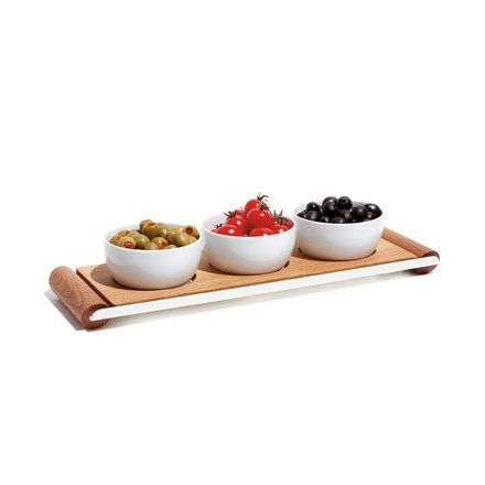Design im Dorf - Kerrie bread plate with tray M - bowls