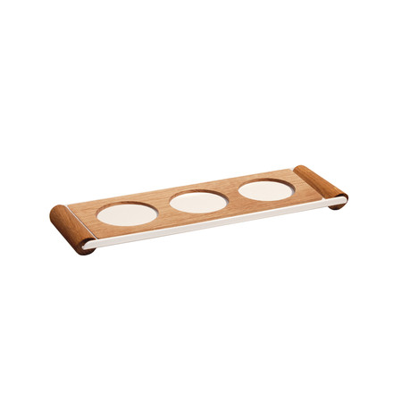 Design im Dorf - Kerrie dip bowls holder with tray S