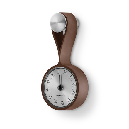 Eva Solo - Timer with brown loop on a hook
