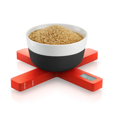Eva Solo - Digital kitchen scale, orange, sugar