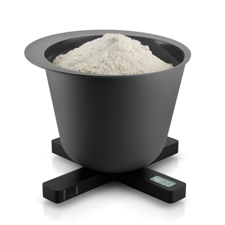 Eva Solo - Digital kitchen scale, black, flour