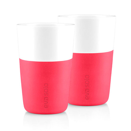 Eva Solo - Caffé Latte-Cup (set of 2), pink - single image