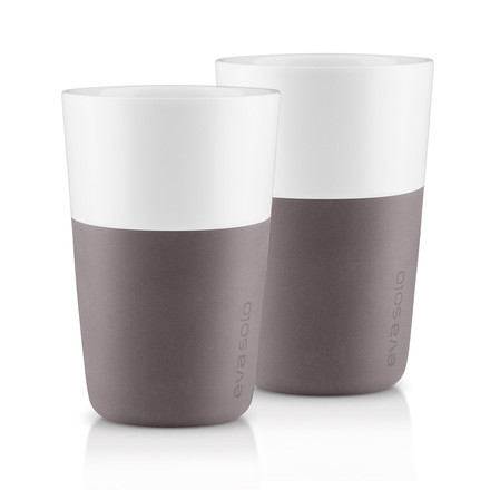Eva Solo - Caffé Latte-Cup (set of 2), grey - single image