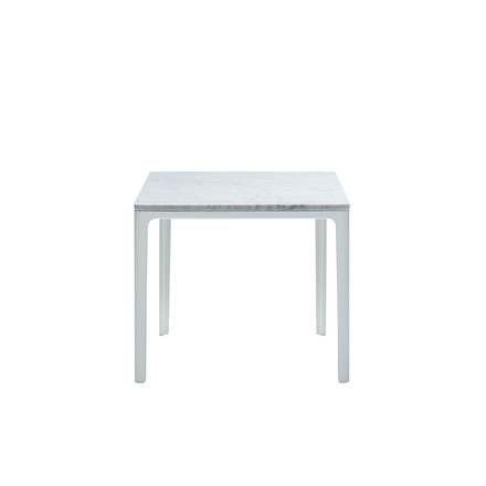 Vitra - Plate Table, 370 x 400 x 400, carrara marble