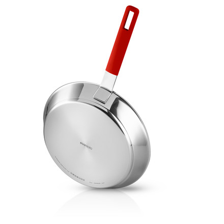 Eva Solo - Gravity Frying Pan, 28 cm, red, from below