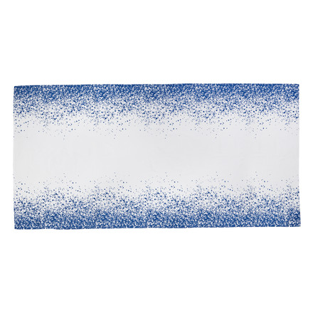 ferm Living - Splash TableCloth 290 cm, blue