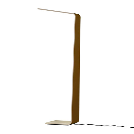 Led 2 floor lamp by Tunto in brown