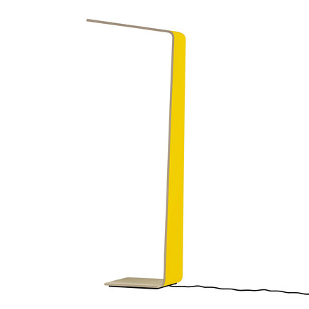 Led 2 floor lamp by Tunto in yellow