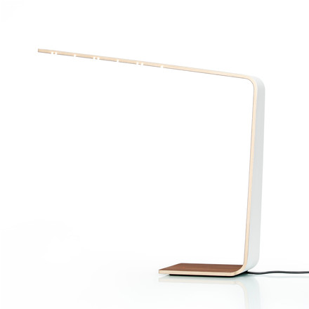 Led 4 table lamp by Tunto in white