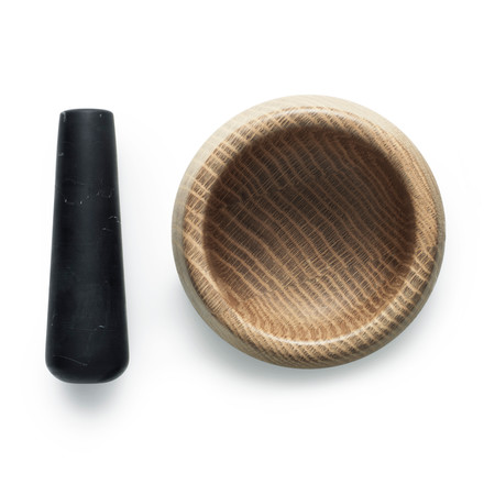 Normann Copenhagen - Craft Mortar with Pestle, black