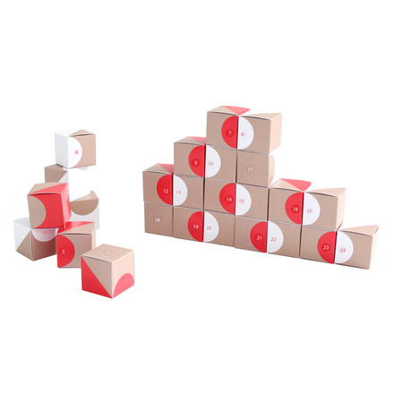 Snug.studio - snug.boxes Advent Calendar, decoration circles