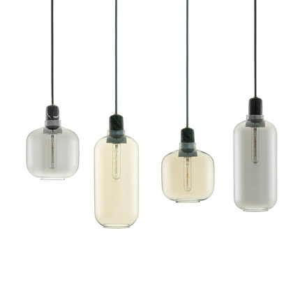 Normann Copenhagen - Amp Pendant Luminaire, all variants