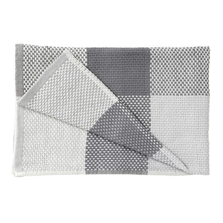 Muuto - Loom Throw, grey, folded