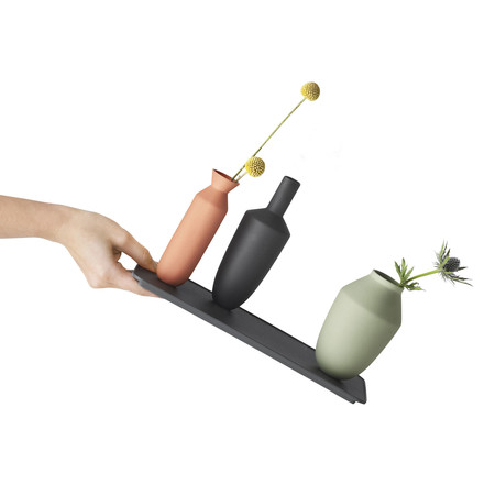 Muuto - Balance Vase (3 Vasen-Set), Block Colour, tilt