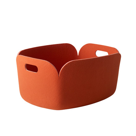 Muuto - Restore storing basket, orange - single image