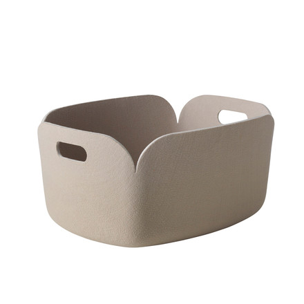 Muuto - Restore storing basket, sand - single image