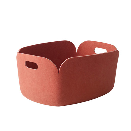 Muuto - Restore storing basket, rose - single image