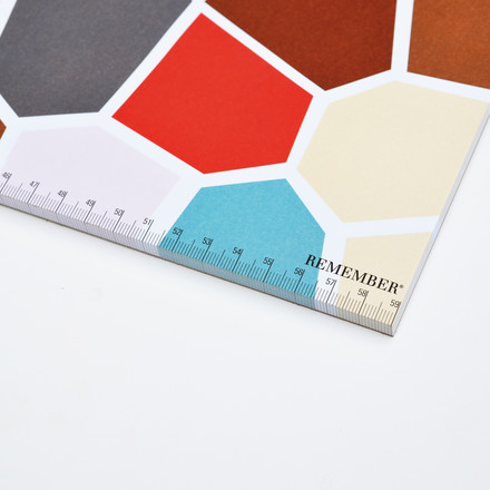 Remember - Desk-pad, multi-coloured