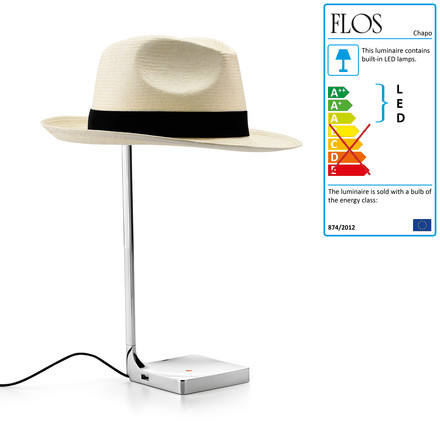 Flos - Chapo Table Lamp 02, turned off