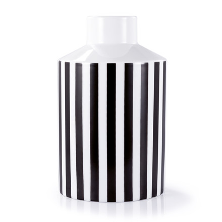 Remember - Black & White Vase, large