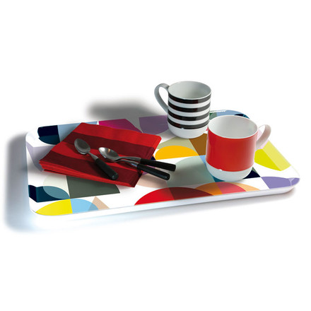 Remember - Solena Melamine Tray, cups
