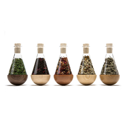 urbanature - stehauf herbage bottle, 5 pieces