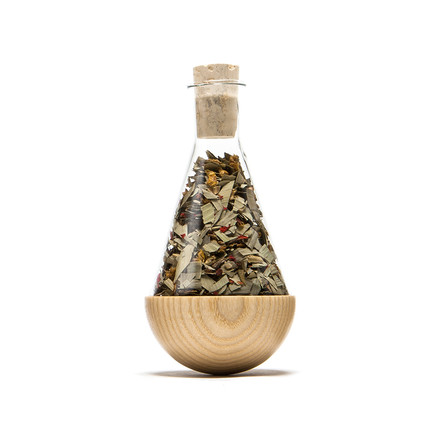 urbanature - stehauf herbage bottle, ash