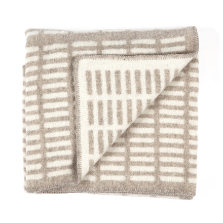 Artek - Siena Blanket, natural / white