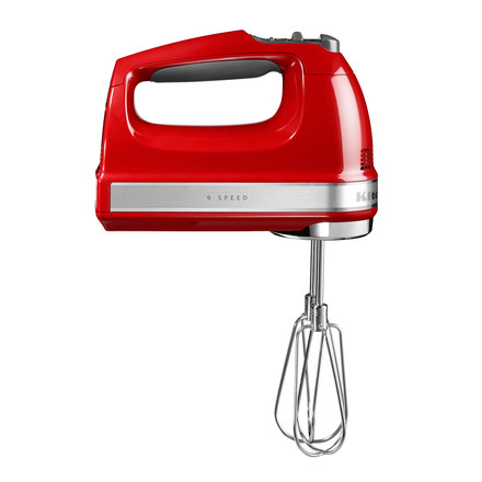 KitchenAid - Handheld Electric Mixer (cabel), empire red