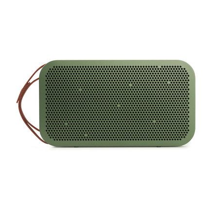 Bang & Olufsen - BeoPlay A2 green, lying on its side