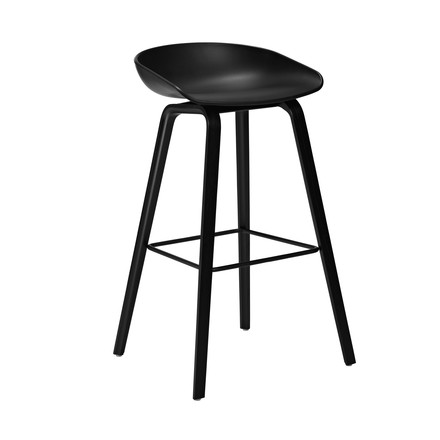Hay - About A Stool AAS 32, black, H75