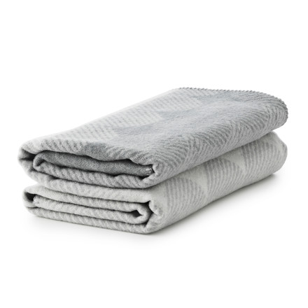 Normann Copenhagen - Ekko blanket smoke/ grey