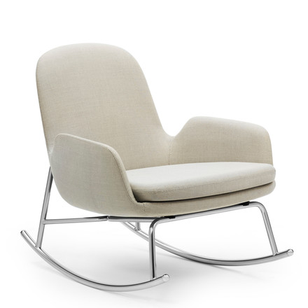 Normann Copenhagen - Era Rocking Chair low, breeze fusion, Side