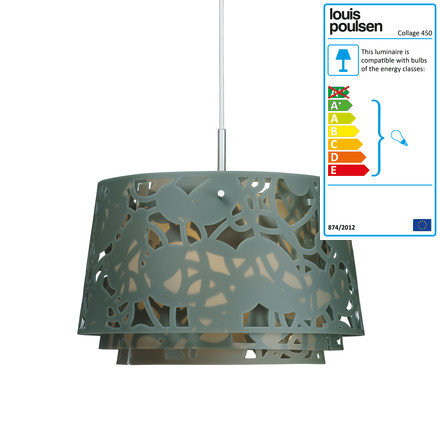 Louis Poulsen - Collage 450 Pendant Lamp, dark-green matt