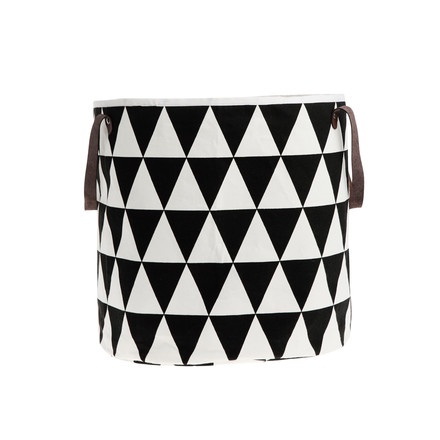 ferm Living - Triangle Laundry Basket, 40 x 35 cm