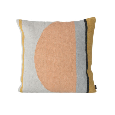 Kelim Cushion by ferm Living with Semicircles