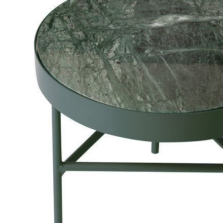 ferm living - Marble Table, green